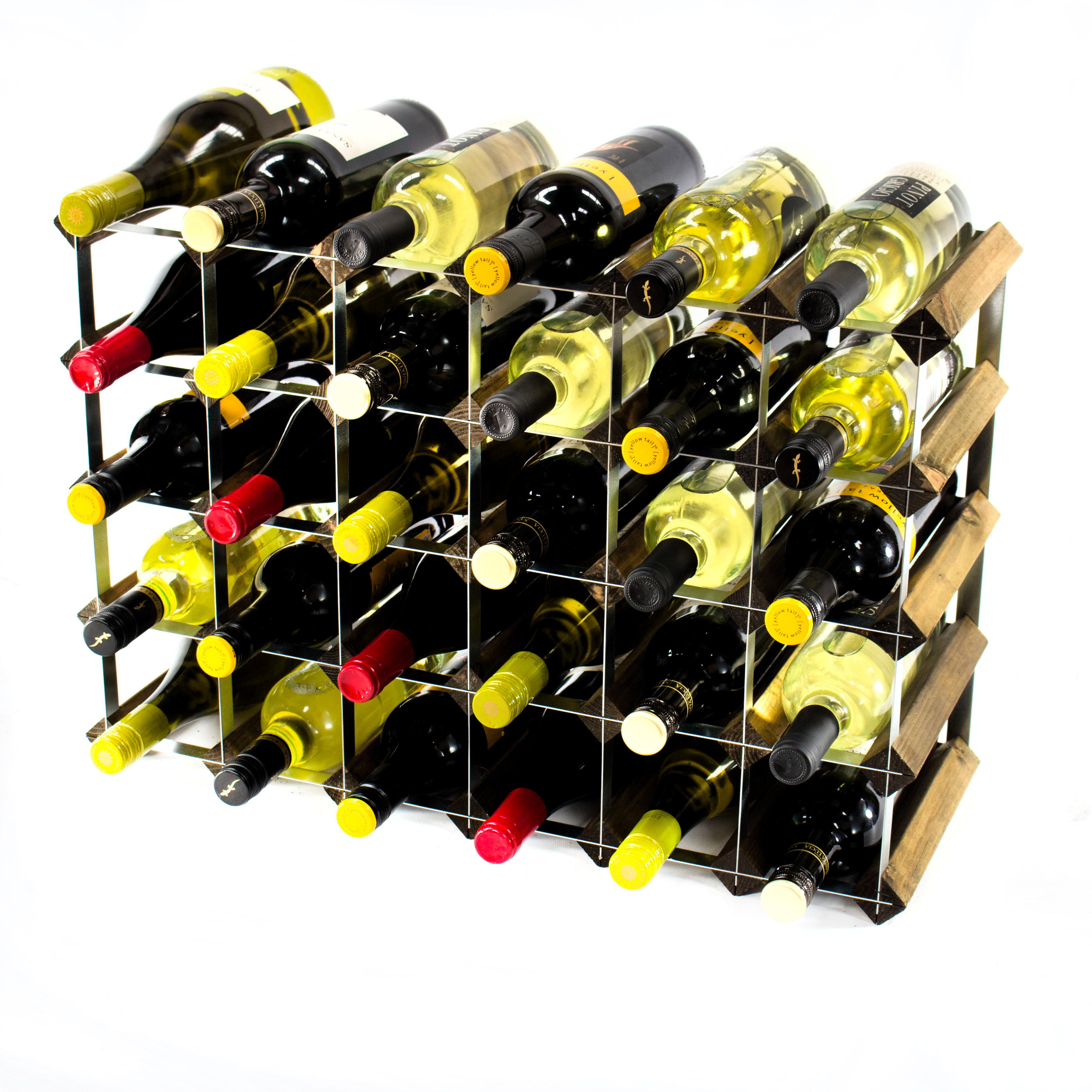 home racks hanging your investment for wine metal iron rack