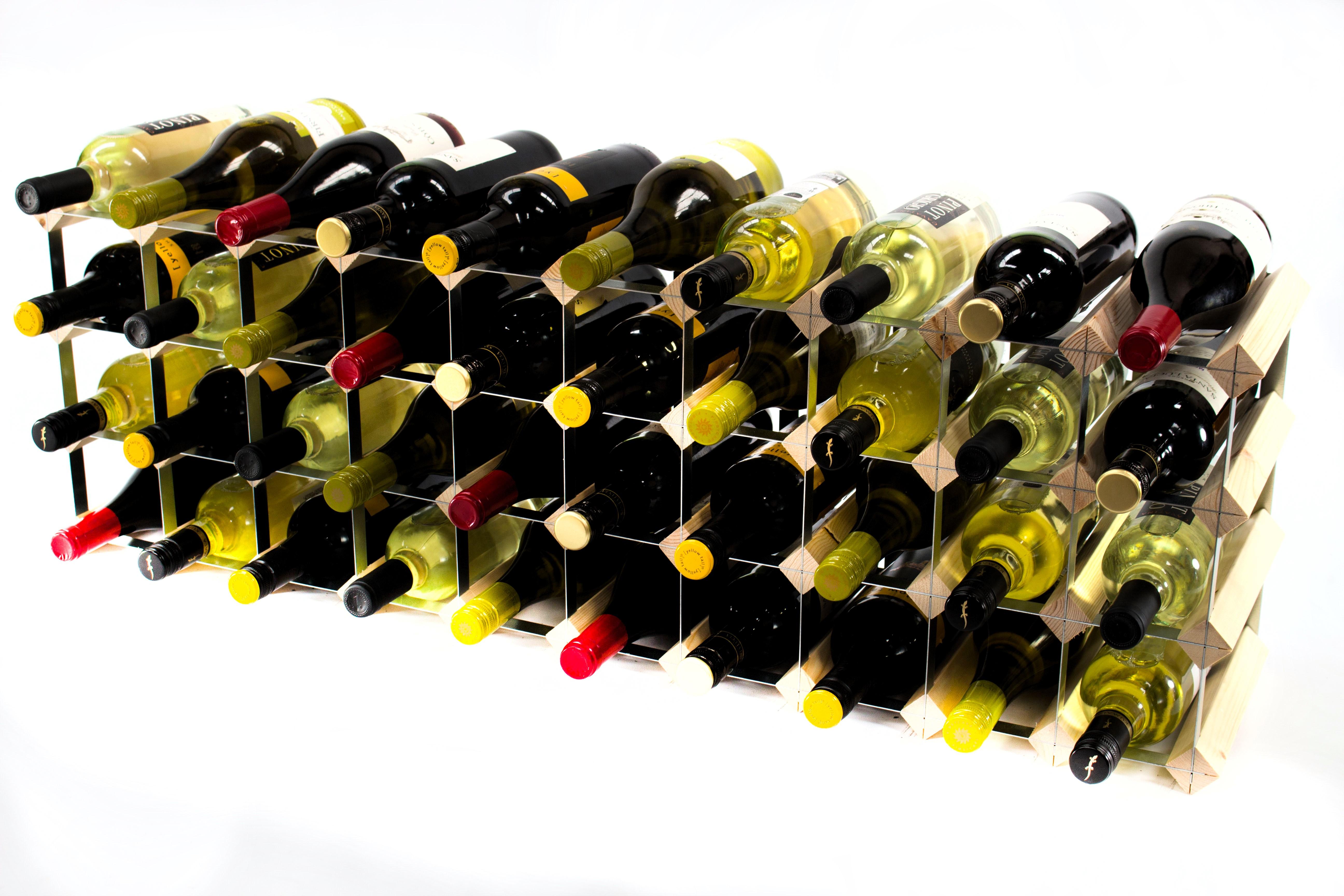 30 40 Bottle Cupboard Top Wine Rack Cranville Wine Racks
