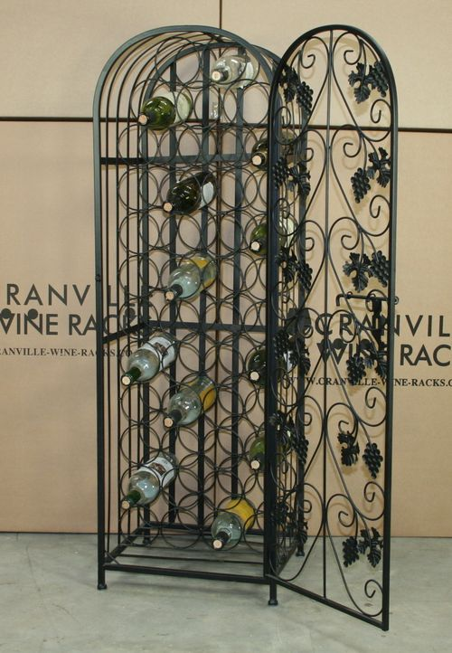 Metal Wine Racks Wrought Iron Wine Racks Cranville Wine Racks