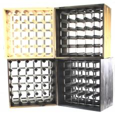 Wine rack cube - Flat pack