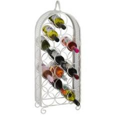 Shabby chic 18 bottle wine rack
