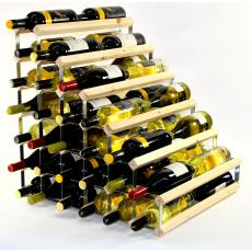 Double depth 54 bottle understairs wine rack