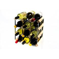 Classic 12 bottle wine rack self assembly