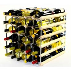 Double depth 60 bottle wine rack