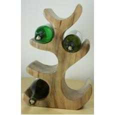 6 Bottle solid wood wine holder