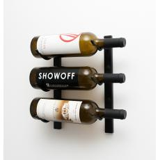 Wall Mounted Wine Rack 3 bottles