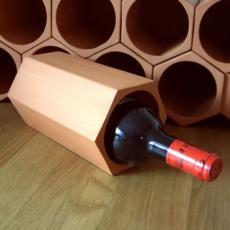 Terracotta wine rack cell