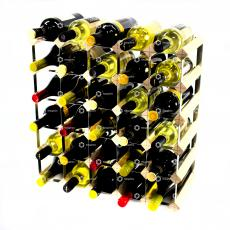 Classic 30 bottle wine rack self assembly