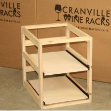 Wine case drawers
