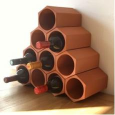Terracotta wine rack cell 10 pack
