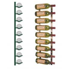 Wall Mounted Wine Rack 9 bottles