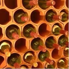 Terracotta wine rack cell 50 pack
