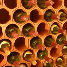 Terracotta wine rack cell 50 pack