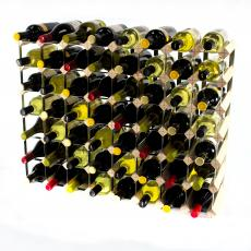 Classic 56 bottle wine rack ready assembled