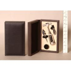 Four piece bar set in presentation box.