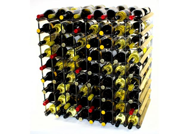 Double depth 144 bottle wine rack image