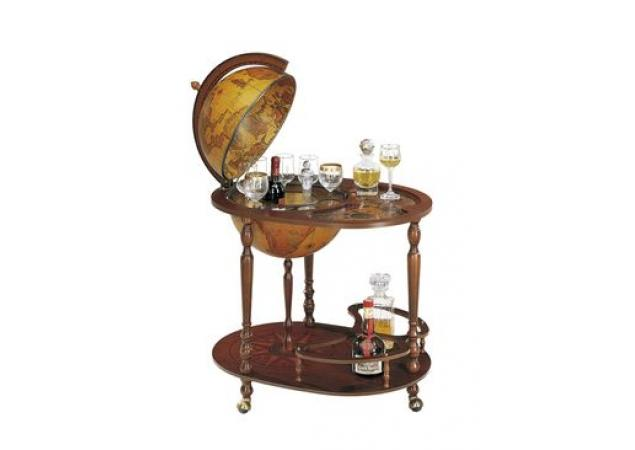 Art44-4 Globe Drinks Cabinet image