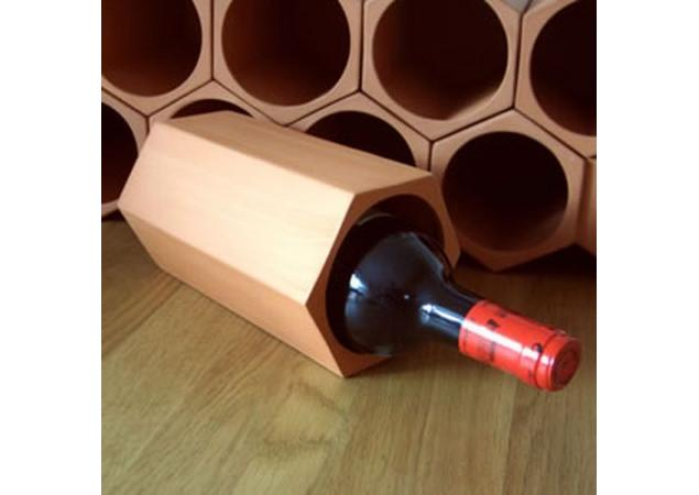 Terracotta wine rack cell image