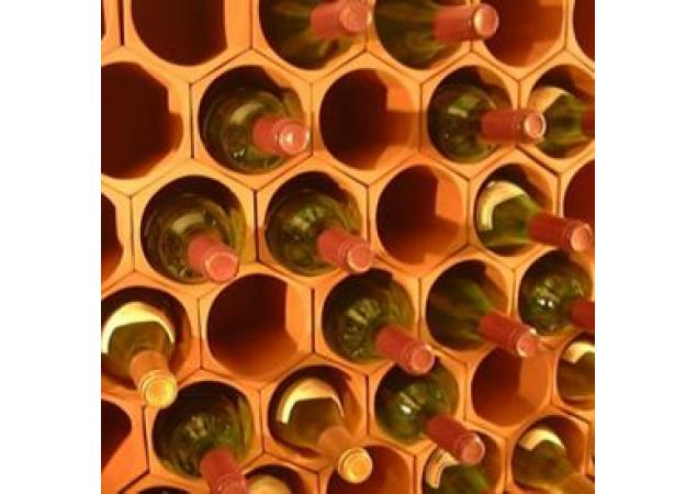 Terracotta wine rack cell 50 pack image