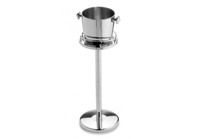 Champagne ice bucket and stand image