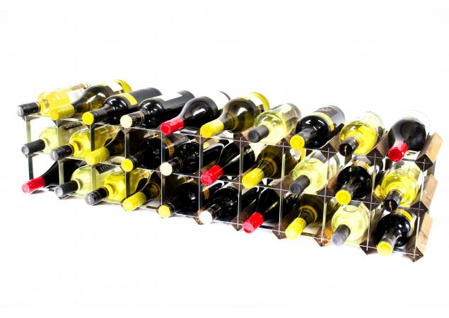 Classic 20 /30 bottle cupboard top wine rack ready assembled image