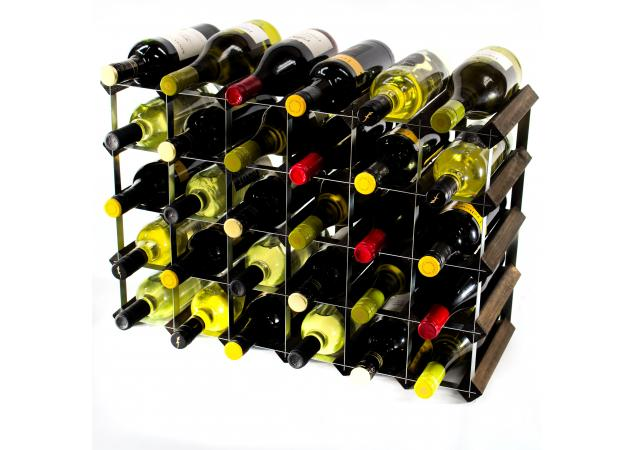 Classic 30 (6x4) bottle wine rack ready assembled image