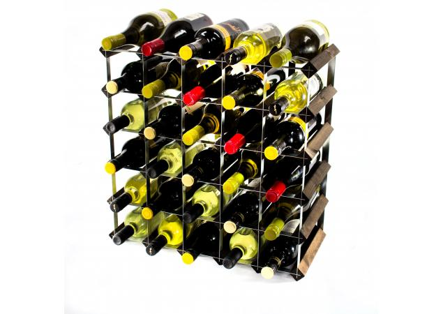 Classic 42 bottle wine rack self assembly image