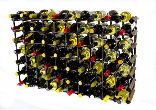 Classic 70 bottle wine rack ready assembled image