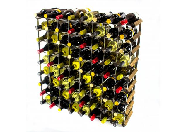 Classic 72 bottle wine rack ready assembled image