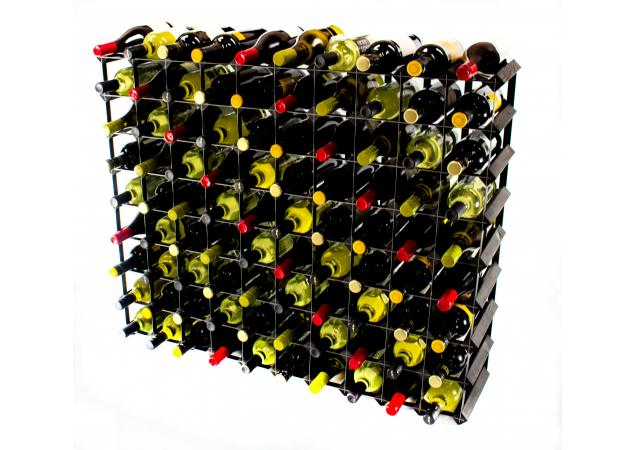 Classic 90 bottle wine rack ready assembled image