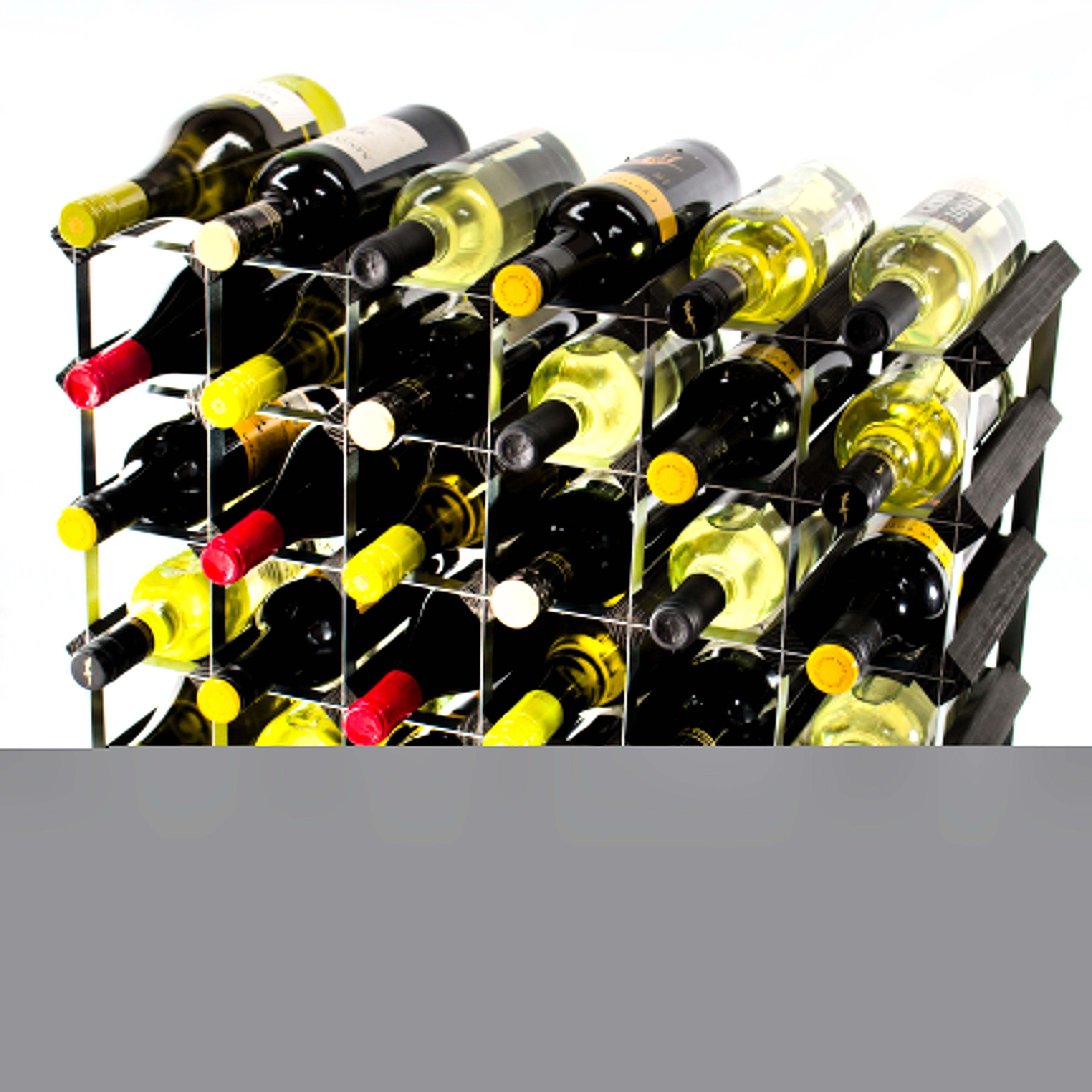 30 6x4 Bottle Wine Rack Ready Assembled Cranville