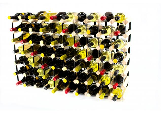 Classic 70 bottle wine rack ready assembled image