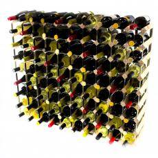 Classic 90 bottle wine rack ready assembled