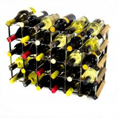 Classic 30 (6x4) bottle wine rack ready assembled