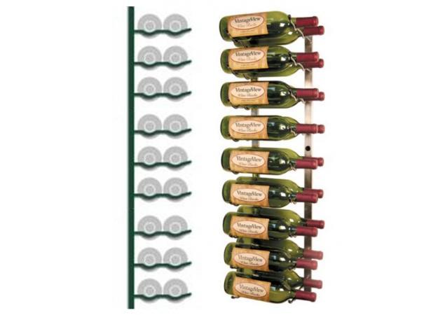 Wall Mounted Wine Rack 18 bottles image