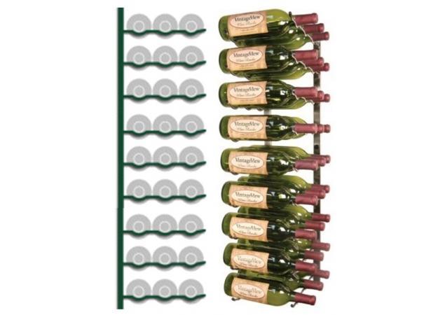 Wall Mounted Wine Rack 27 bottles image