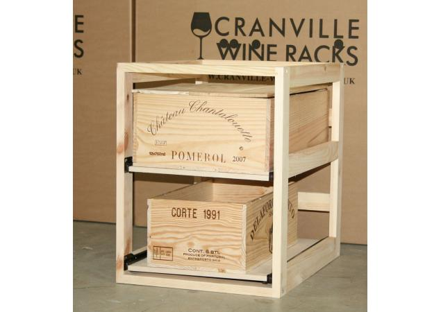 Wine case drawers image
