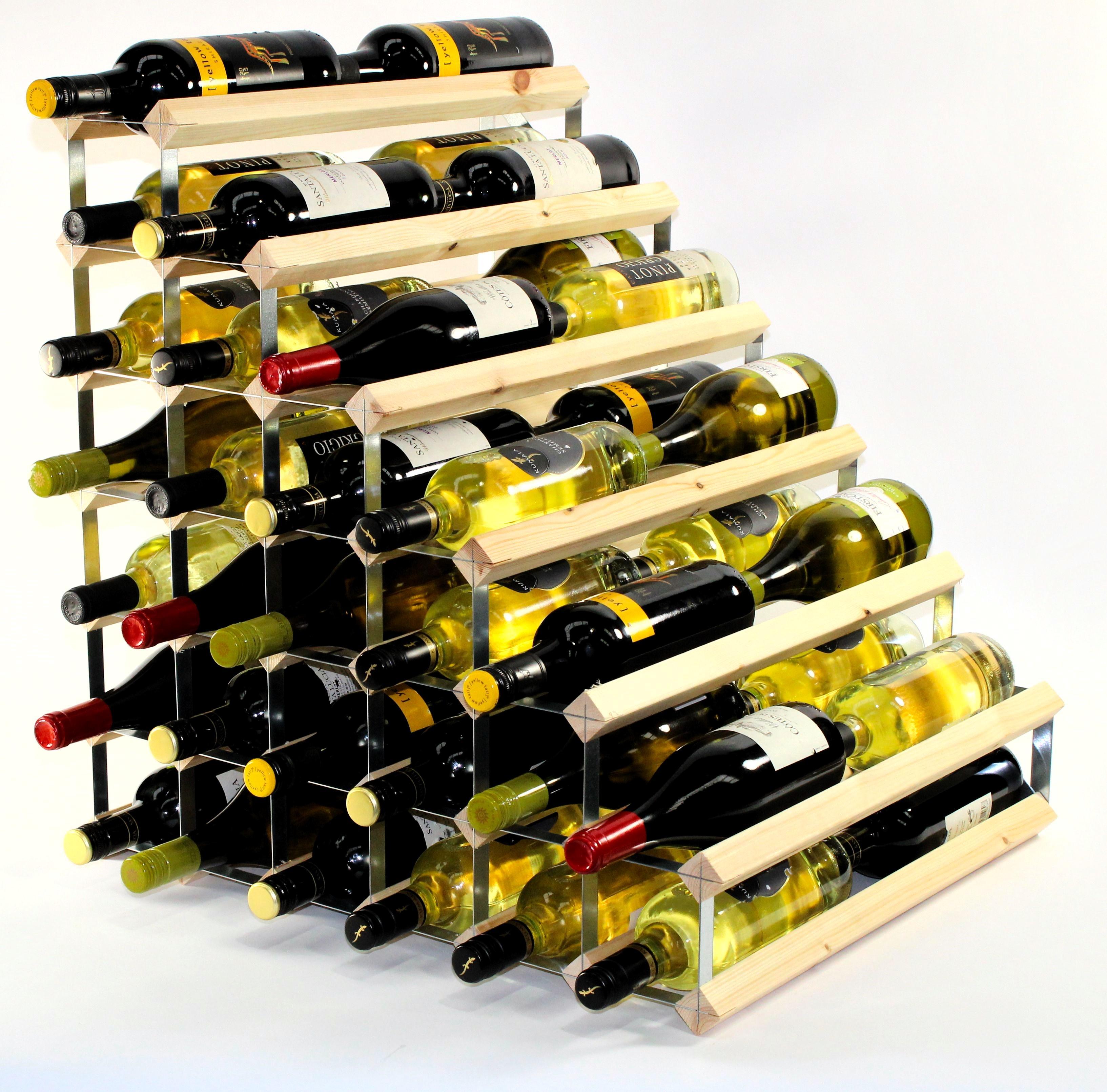 314667820f Double depth 54 Wine Rack | Ready Assembled - Cranville