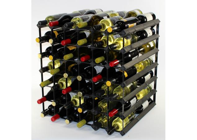 Double depth 84 bottle wine rack image