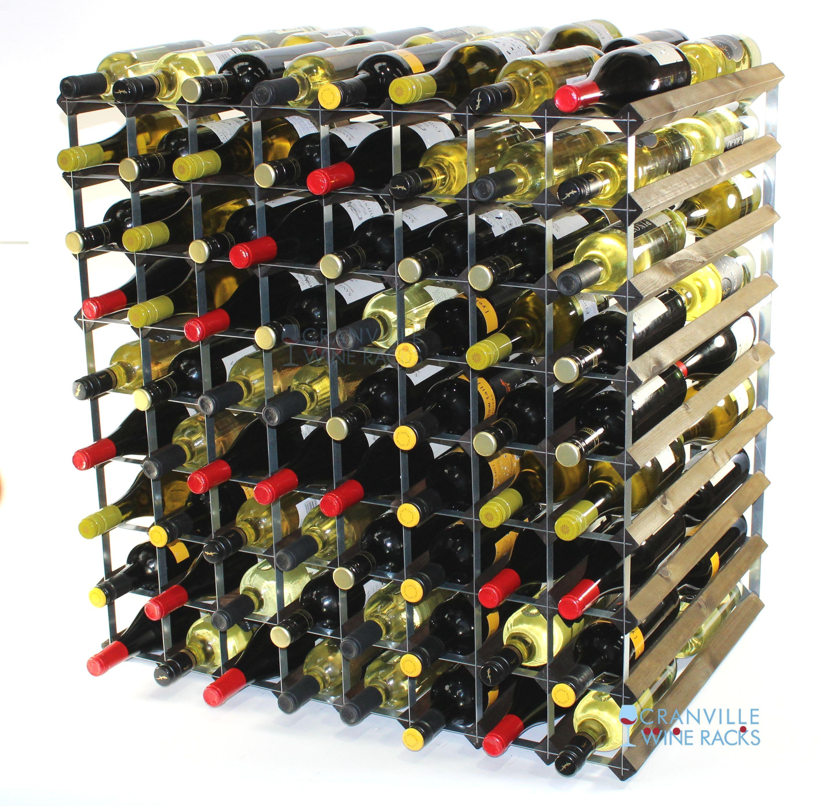 Double Depth 144 Wine Rack Ready Assembled Cranville