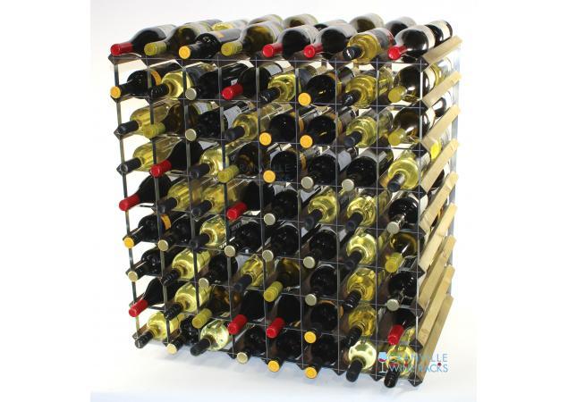 Double depth 144 bottle wine rack image
